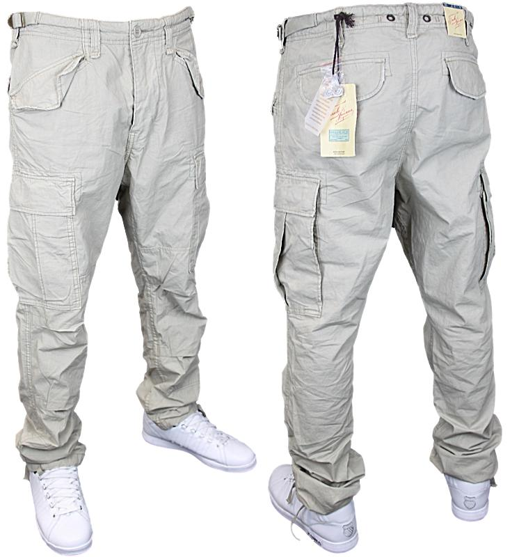 mens beige jack jones stan fargo cargo pants all sizes. Black Bedroom Furniture Sets. Home Design Ideas