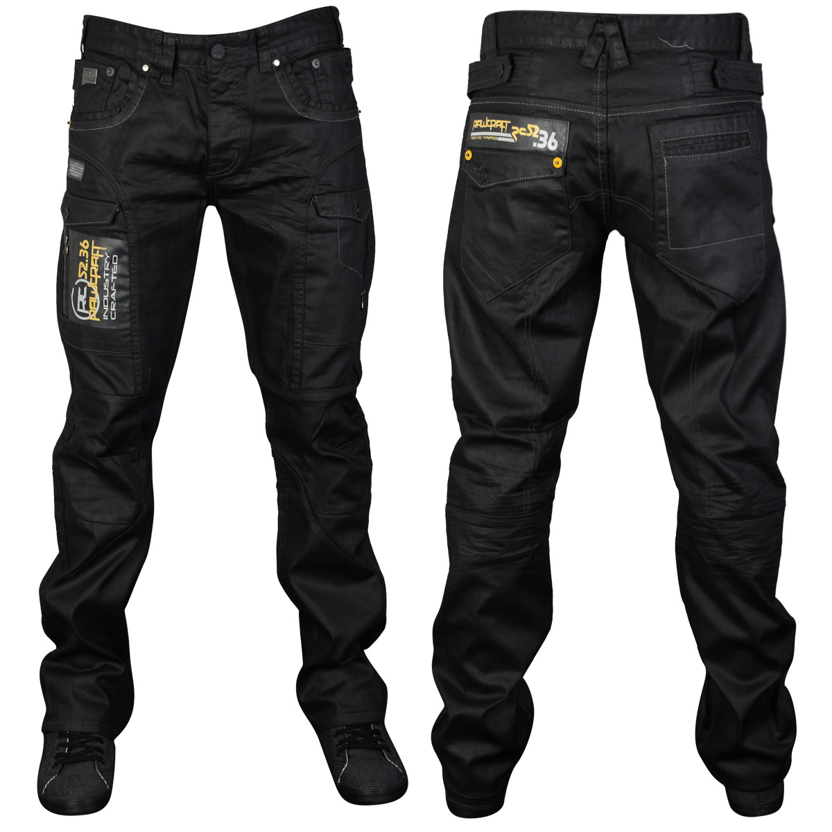 Designer jeans and trousers are an everyday clothing staple that no man can be without. Put simply, purchasing some new designer jeans is always a solid investment! A good pair of Men's jeans or designer trousers is engineered to last and designed to be worn for years. We have the latest in stonewash, light blue, dark blue, grey, black and distressed jeans.