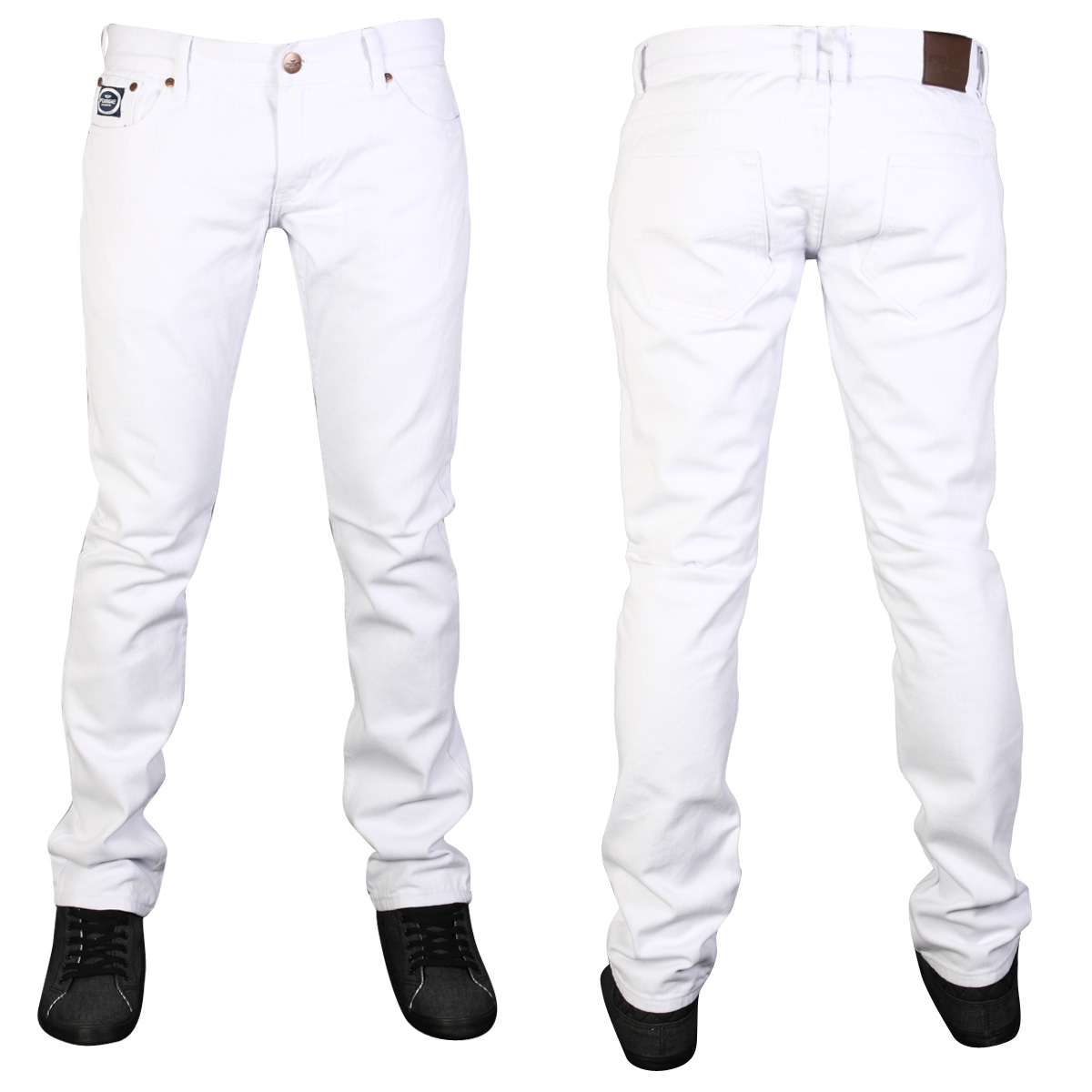 NEW-MENS-FORGE-BY-KAM-F102-DESIGNER-SKINNY-FIT-DENIM-JEANS-ALL-WAIST-LEG-SIZES
