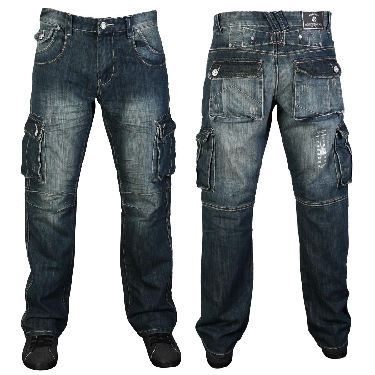New Straight Fit Mens Blue Denim Kam Buddy Designer Jeans All Waist Leg Sizes Ebay