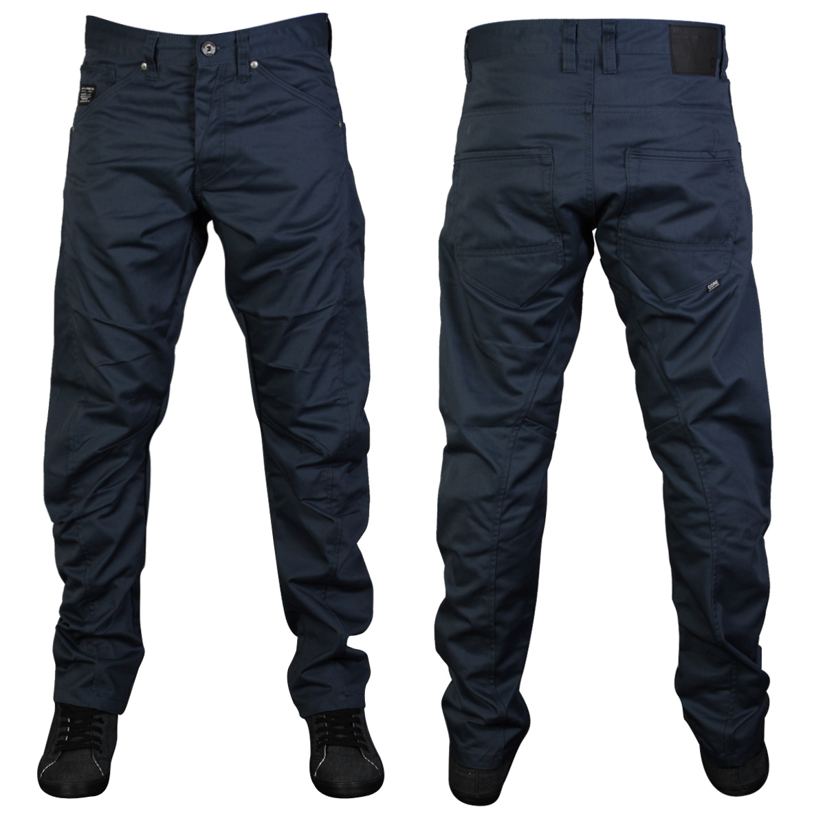 new mens navy core jack jones jeans dale colin chinos. Black Bedroom Furniture Sets. Home Design Ideas