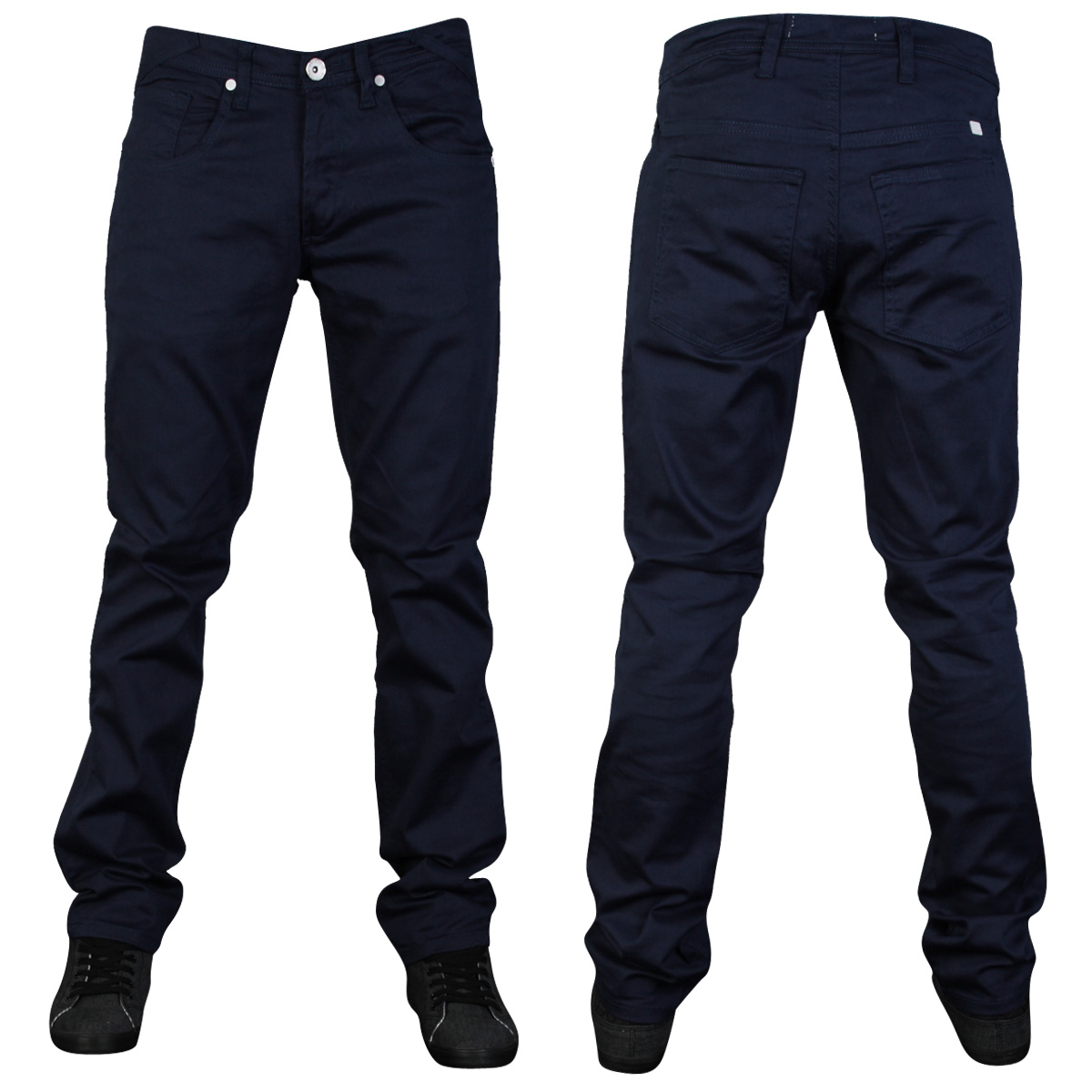 NEW-MENS-ZICO-SKINNY-TWILL-DESIGNER-SLIM-FIT-CHINOS-JEANS-ALL-WAIST-LEG-SIZES