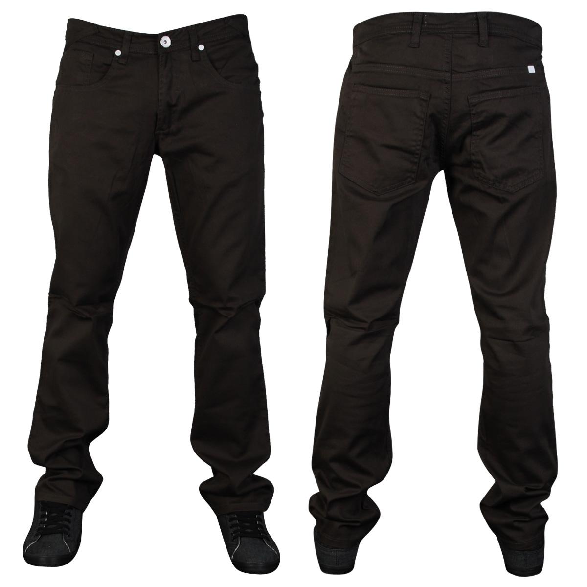 NEW-MENS-ZICO-SKINNY-TWILL-DESIGNER-SLIM-FIT-CHINOS-JEANS-ALL-WAIST-LEG-SIZES