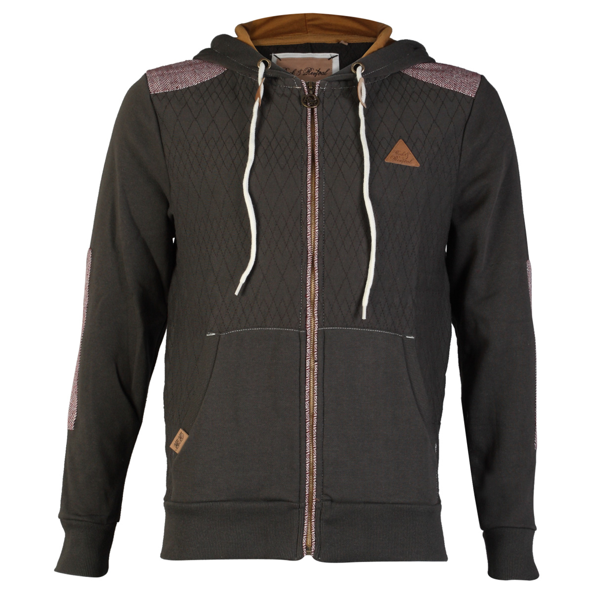 Another featured rock style hoodie jacket is the