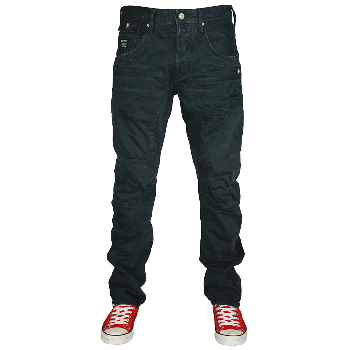 834ab47611c30c MENS JACK & JONES STAN OSAKA DESIGNER ANTI FIT CHINO JEANS ALL WAIST ...