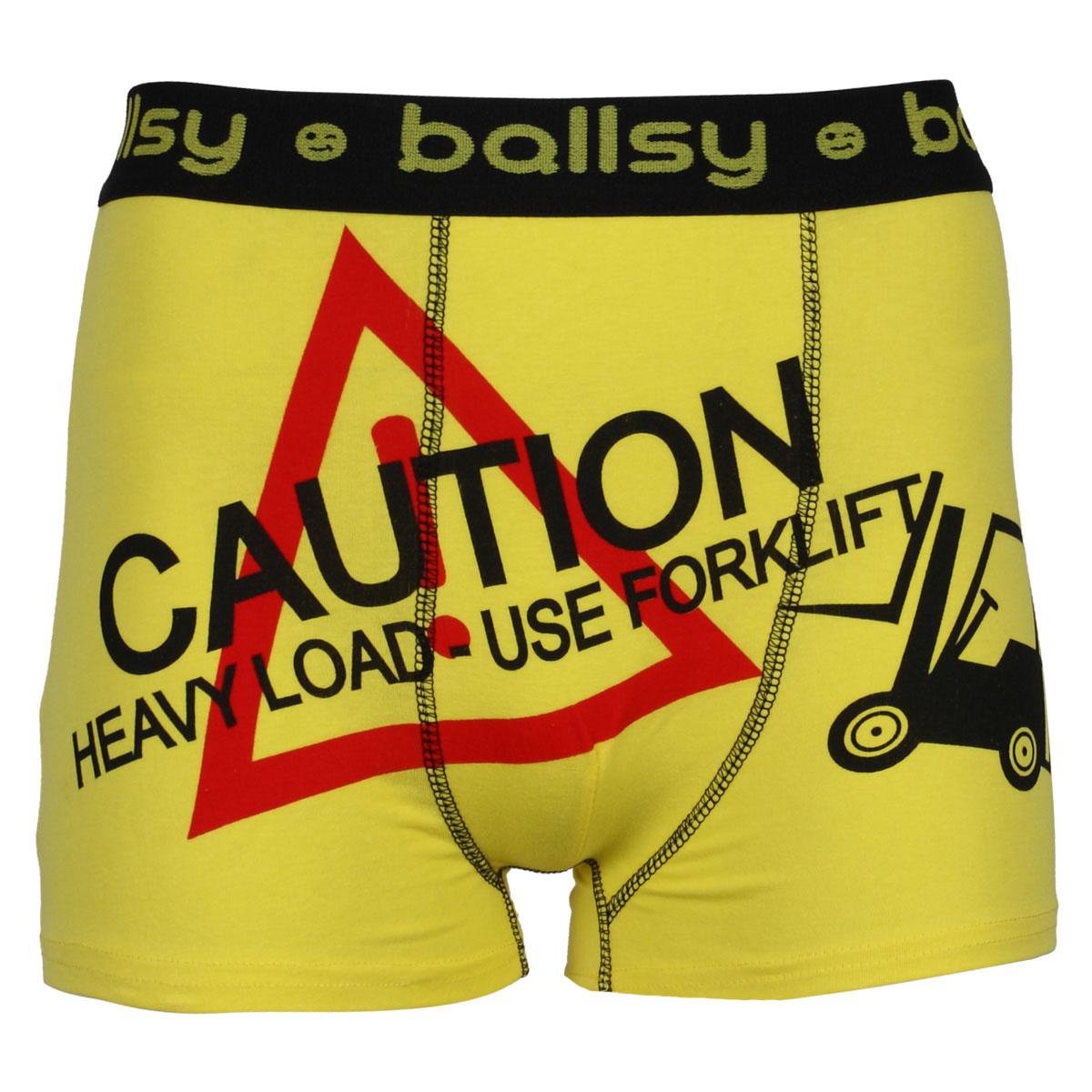 MENS BALLSY DESIGNER SHORTS RUDE FUNNY EXPLICIT NOVELTY UNDERWEAR ...