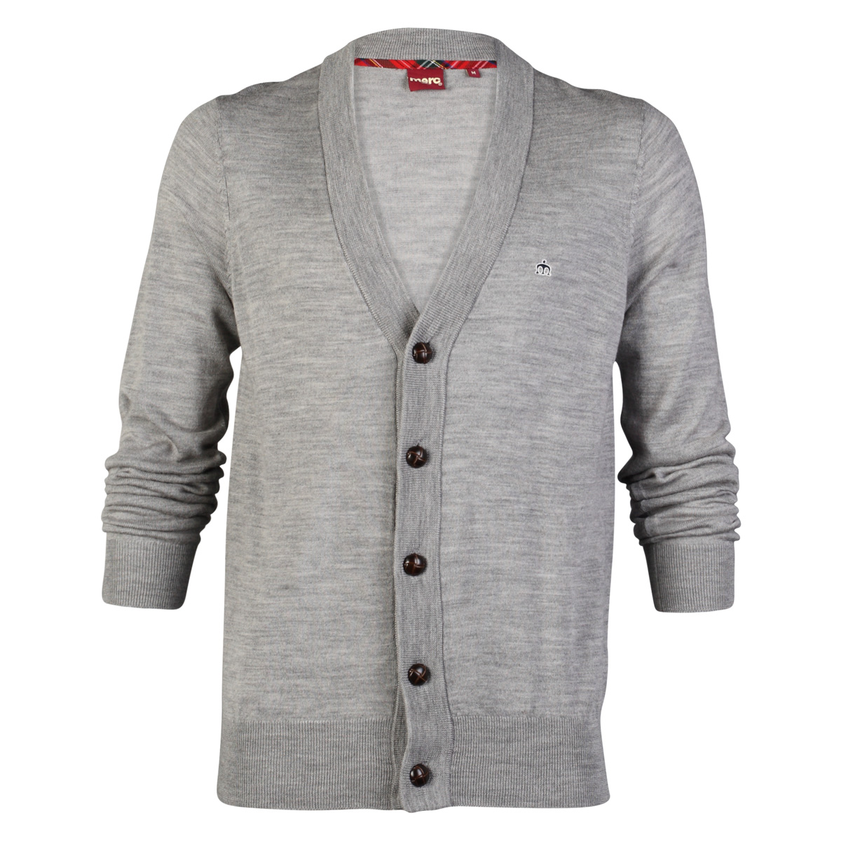 NEW MENS MERC HARRIS KNITTED V NECK STRETCH BUTTON UP CASUAL ...