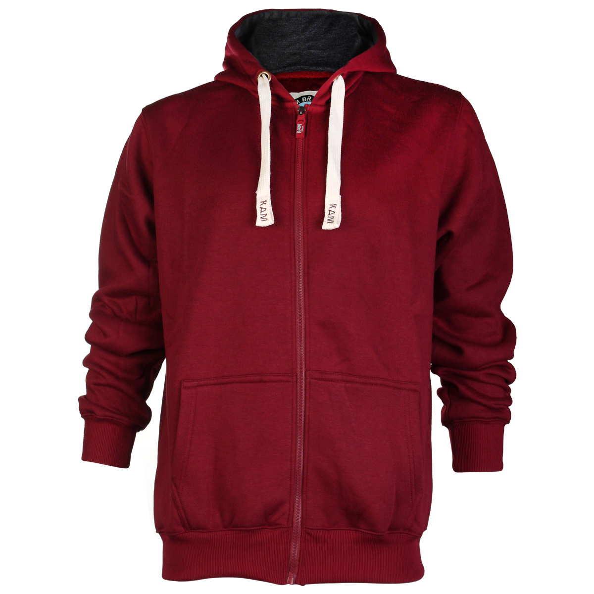 E20 NEW MENS KAM JEANS K503H ZIP UP HOODY HOODED FLEECE JACKET TOP ...