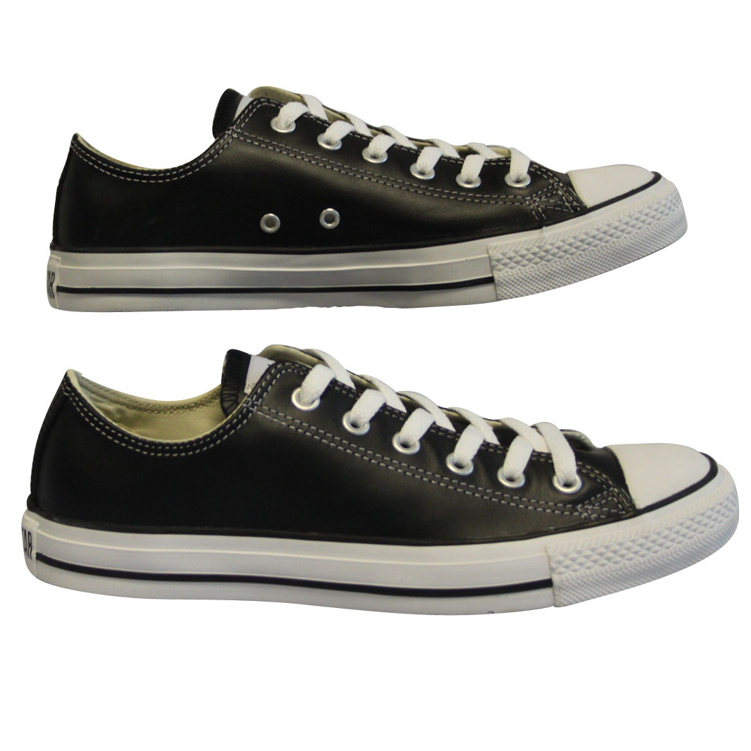 NEW-MENS-BLACK-CONVERSE-1Q549-DESIGNER-LACE-UP-TRAINERS-SHOES-SIZES-3-13-RRP-55
