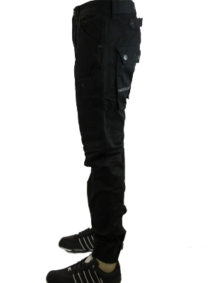 NEW-MENS-BLACK-VOI-JEANS-SHEARER-DESIGNER-CUFFED-REGULAR-FIT-COMBATS-ALL-SIZES