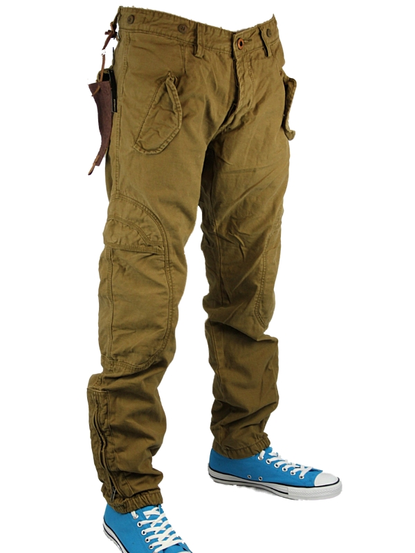 MENS-SAND-POLICE-JEANS-883-CAGIVA-DESIGNER-TAPERED-FIT-CHINOS-PANTS-ALL-SIZES-UK