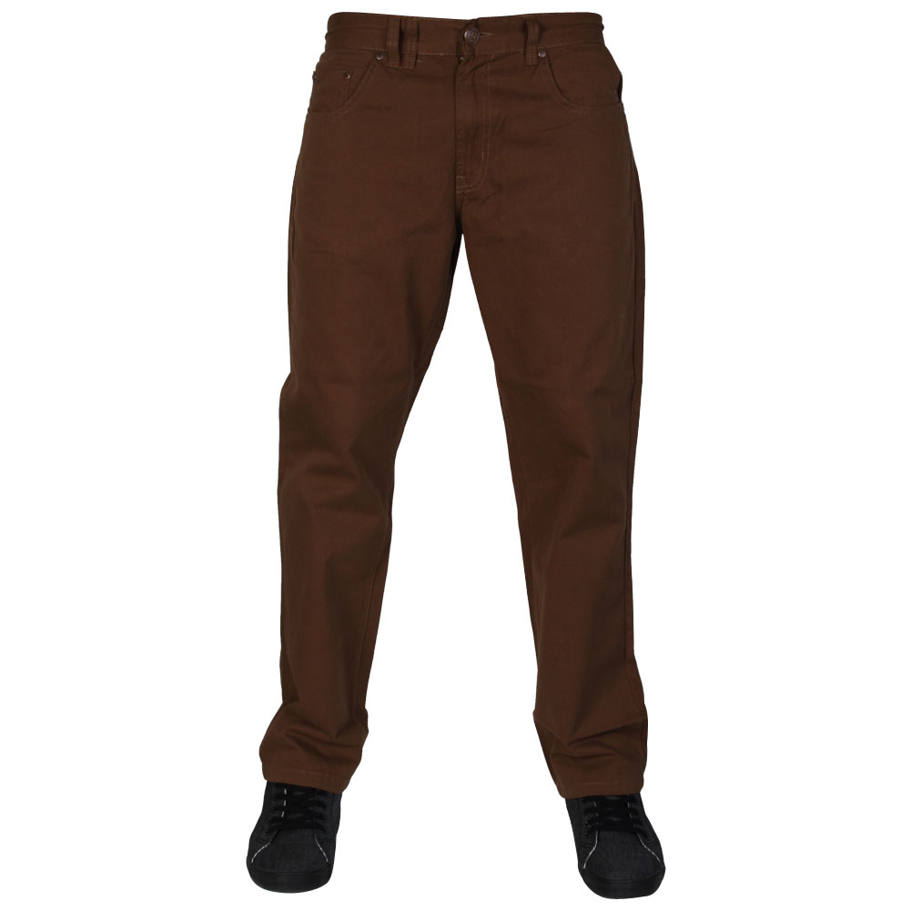 NEW-MENS-KAM-JEANS-K254-REGULAR-FIT-CASUAL-CHINOS-PANTS-ALL-WAIST-AND-LEG-SIZES