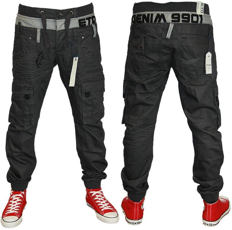 herren marken jeans eto em209 kegelf rmig gerafft denim alle gr en ebay. Black Bedroom Furniture Sets. Home Design Ideas