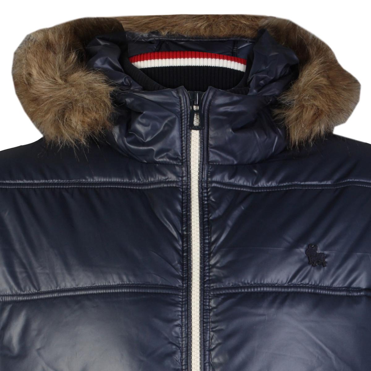 clearance mens blue jack amp jones new envy hooded zip padded puffer