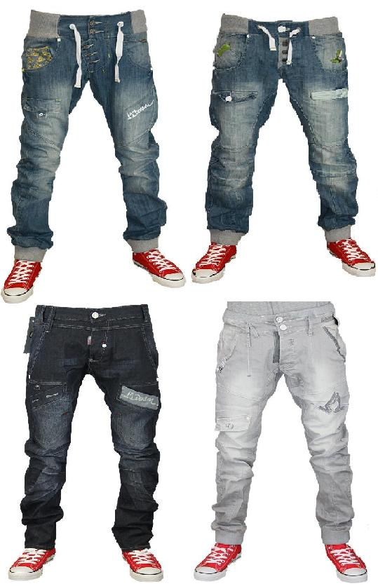 NEW MENS J2 303 DESIGNER BRANDED TAPERED FIT DENIM JOGGERS JEANS ...