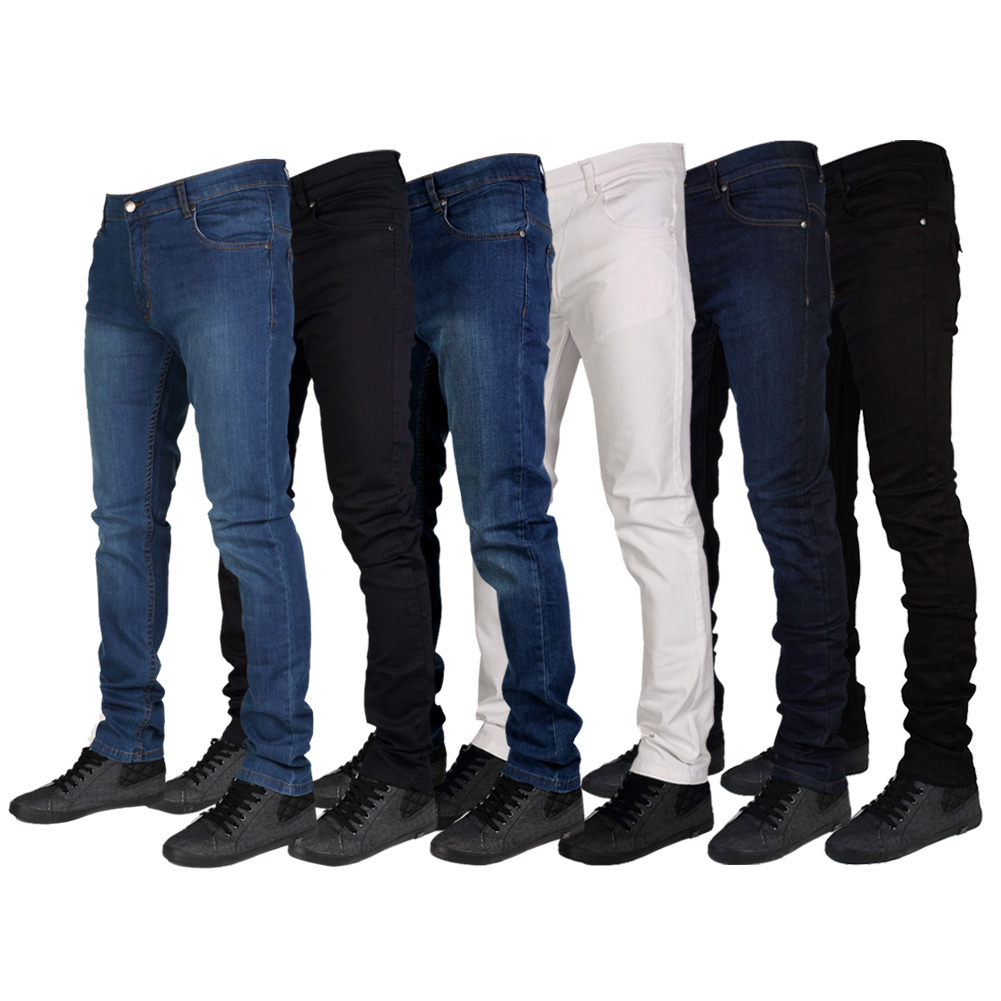MENS G72 DENIM SUPER STRETCH SKINNY SLIM FIT JEANS ALL WAIST & LEG ...