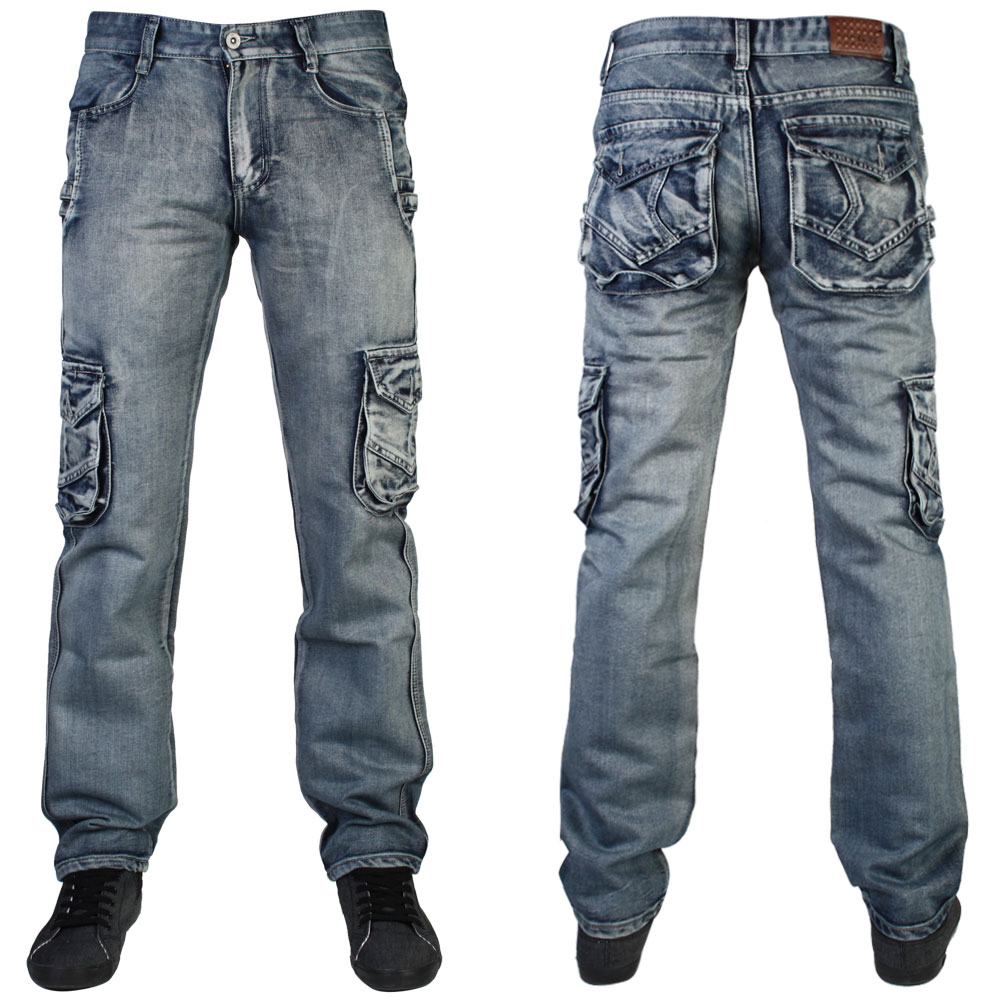 Cargo Denim Pants | Pant So