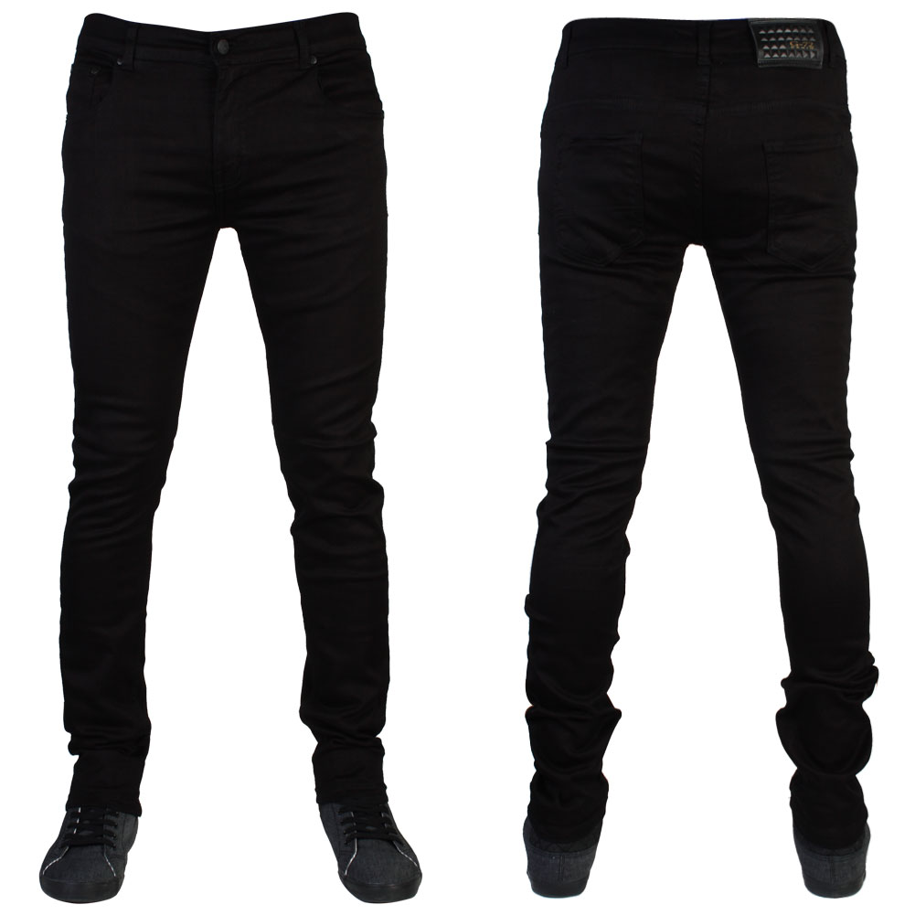 MENS SLIM FIT G72 DENIM SUPER STRETCH SKINNY JEANS ALL WAIST & LEG ...