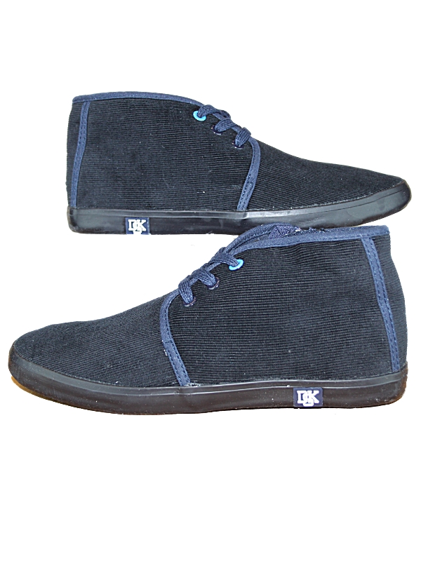 MENS-NAVY-DEAKINS-SIDELINE-DESIGNER-LACE-UP-MID-CUT-TRAINERS-SHOES-SIZES-6-12-UK