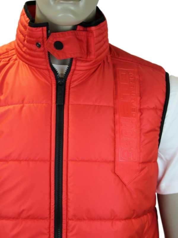 NEW-MENS-RED-ETO-JEANS-ETG51-DESIGNER-BRANDED-BODY-WARMER-GILET-JACKET-SIZE-S-XL
