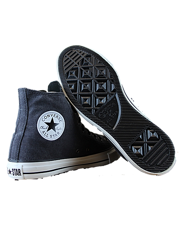 NEW-MENS-BLACK-CONVERSE-130017C-DESIGNER-LACE-UP-CASUAL-TRAINERS-SHOES-SIZE-4-12