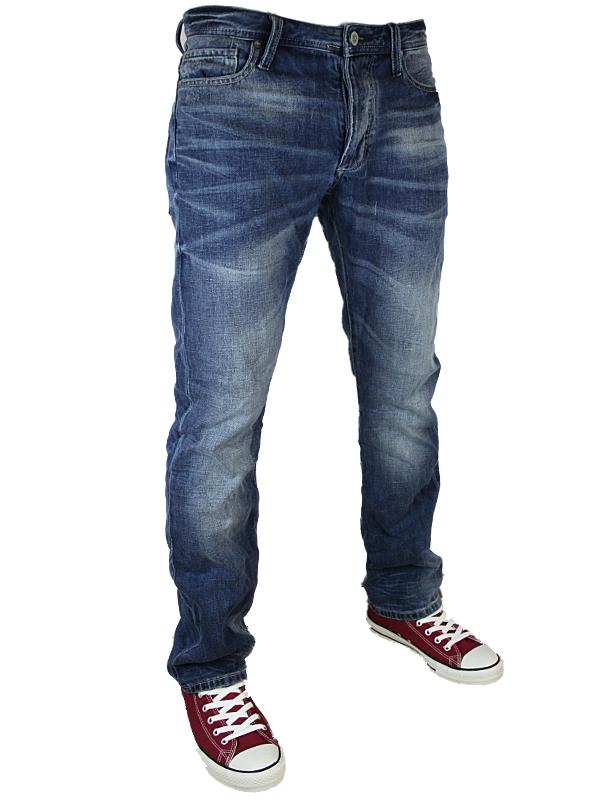 jack jones clark designer jeans herren aktueller kegel schnitt alle gr en ebay. Black Bedroom Furniture Sets. Home Design Ideas