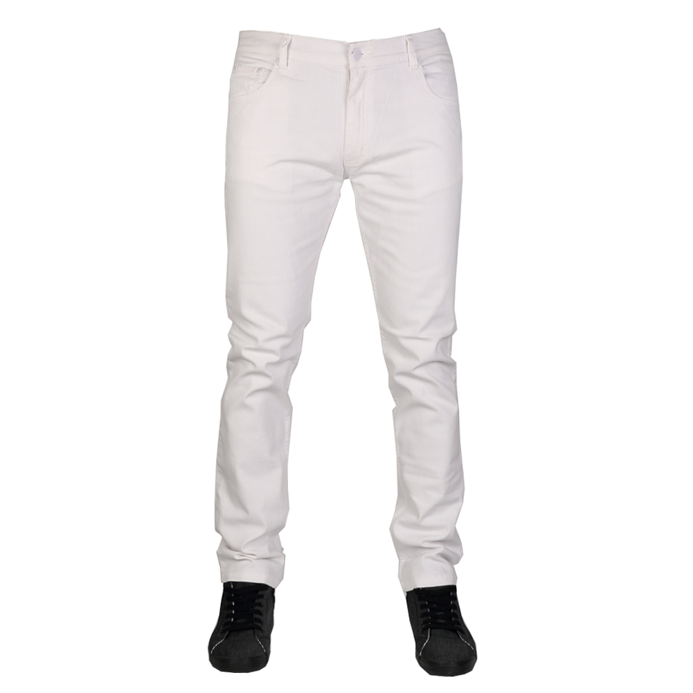 Shop white stretch cotton jeans at Neiman Marcus, where you will find free shipping on the latest in fashion from top designers.