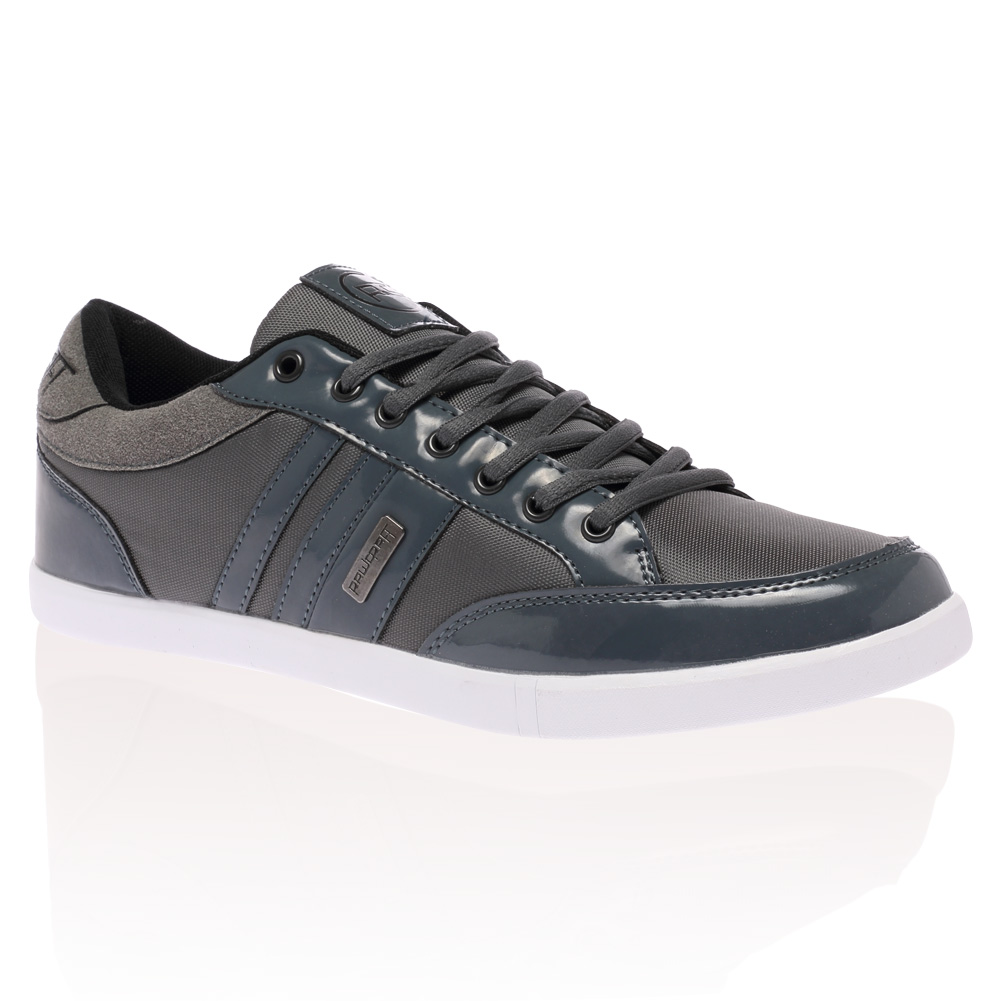 NEW MENS RAWCRAFT ROCK & REVIVAL LACE UP PUMPS FASHION TRAINERS SHOES SIZE 7-11