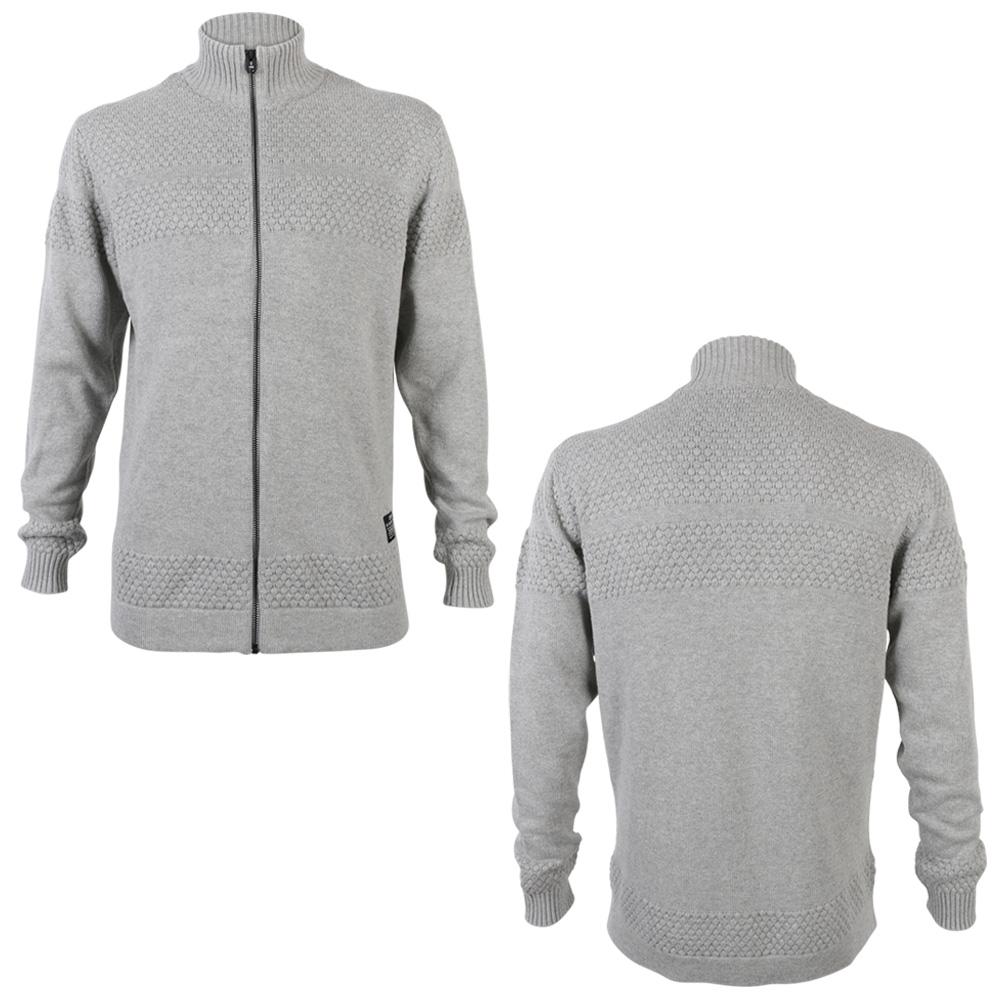 Mens jacket casual - Mens Jack Amp Jones Longsleeve Zip Up Knitted