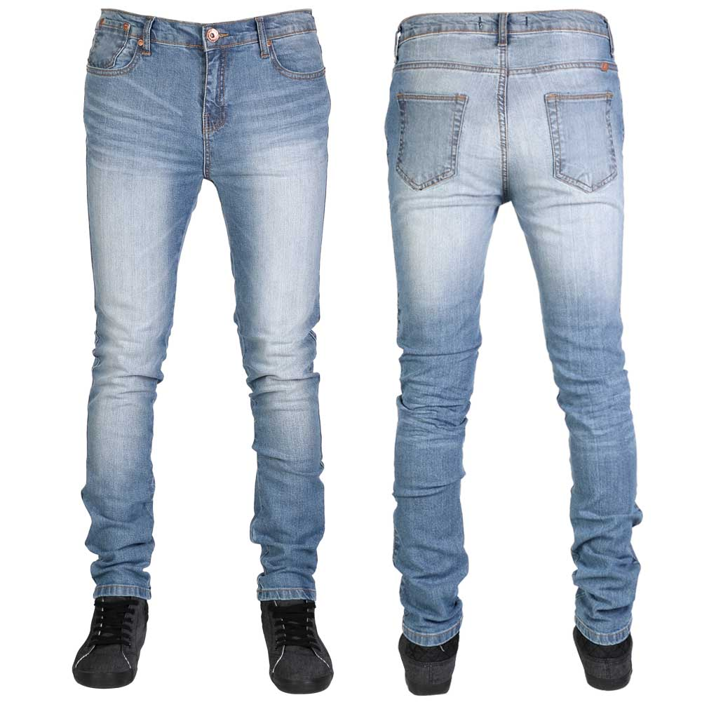 Mens light blue stretch skinny jeans – Your Denim Jeans Blog