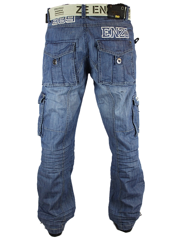 Loose Fitting Mens Jeans