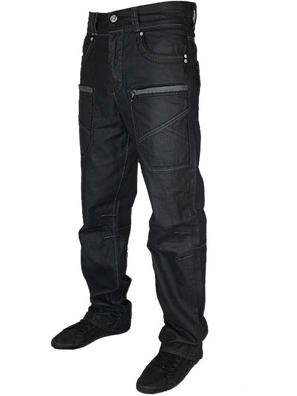NEW-MENS-DARK-MCCARTHY-DESIGNER-LOOSE-FIT-DENIM-JEANS-ALL-WAIST-AND-LEG-SIZES