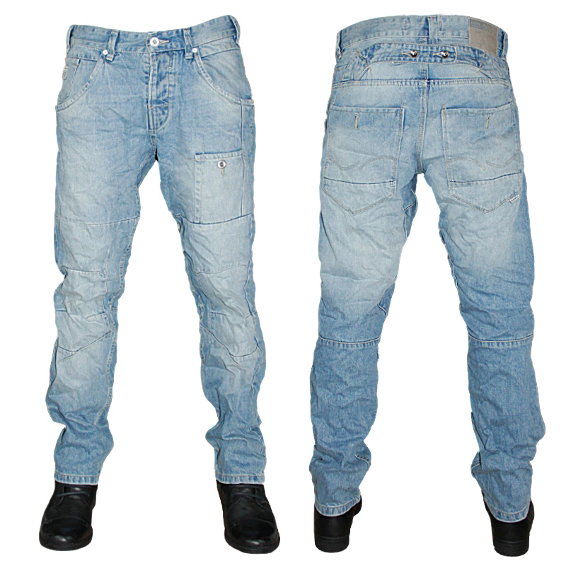new mens blue jack jones stan arvi anti fit denim jeans. Black Bedroom Furniture Sets. Home Design Ideas