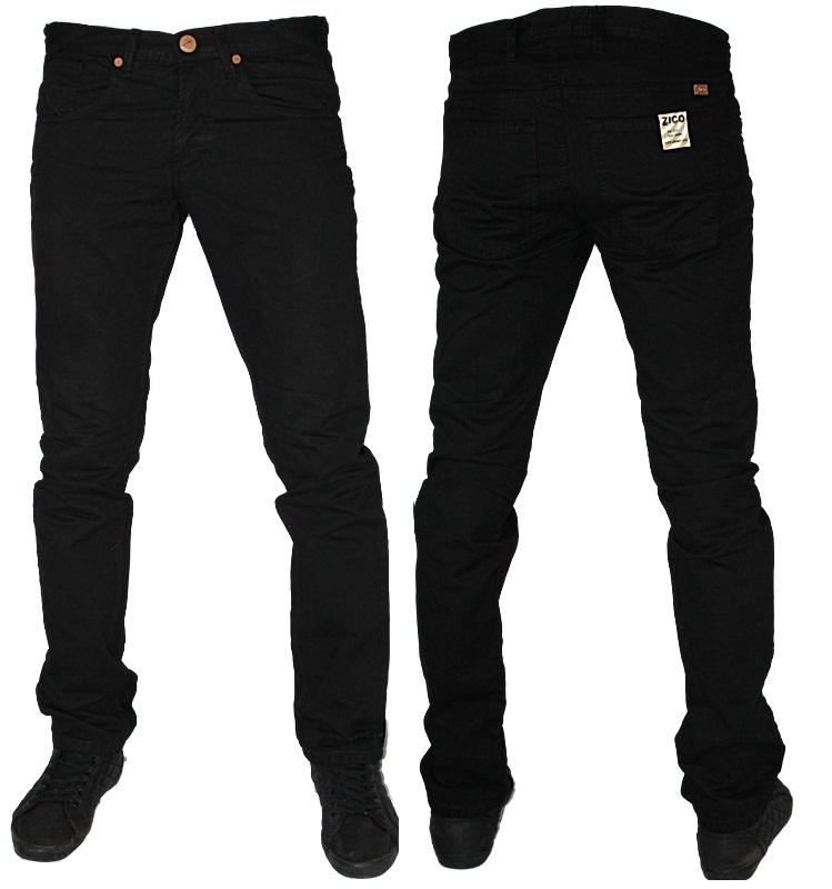 mens zico jeans skinny twill designer slim fit chinos all sizes ebay. Black Bedroom Furniture Sets. Home Design Ideas
