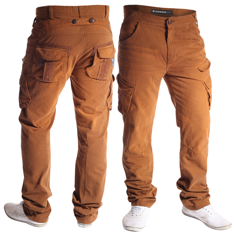 MENS-MISH-MASH-JEANS-RANGER-DESIGNER-TAPERED-FIT-CARGOS-ALL-WAIST-AND-LEG-SIZES