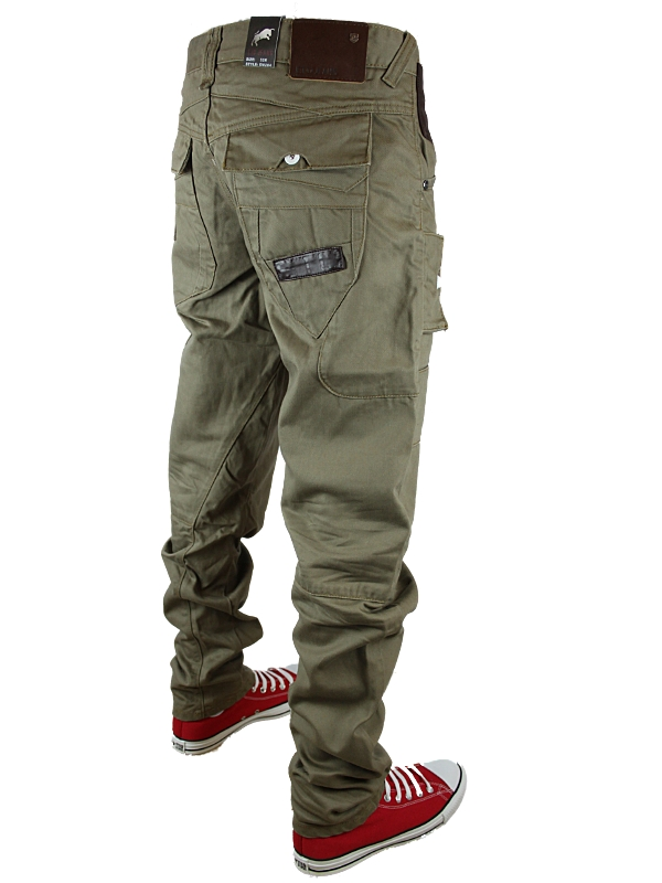 NEW-MENS-BROWN-ETO-EM284-DESIGNER-TWISTED-FIT-DENIM-JEANS-ALL-WAIST-AND-LEG-SIZE