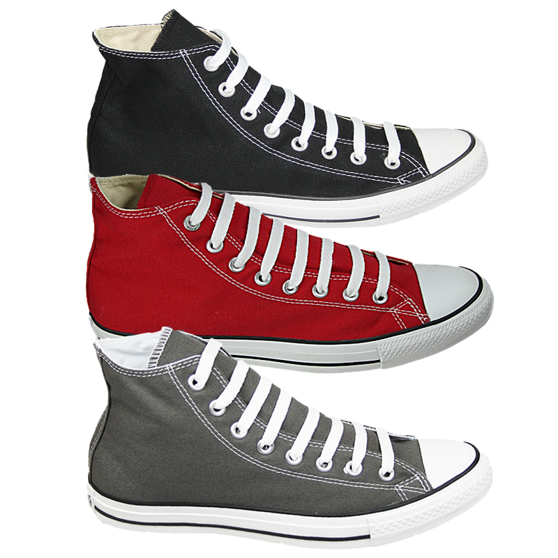NEW-MENS-CONVERSE-ALL-STAR-SEASONAL-CANVAS-LACE-UP-HI-TOP-TRAINERS-SIZES-6-12