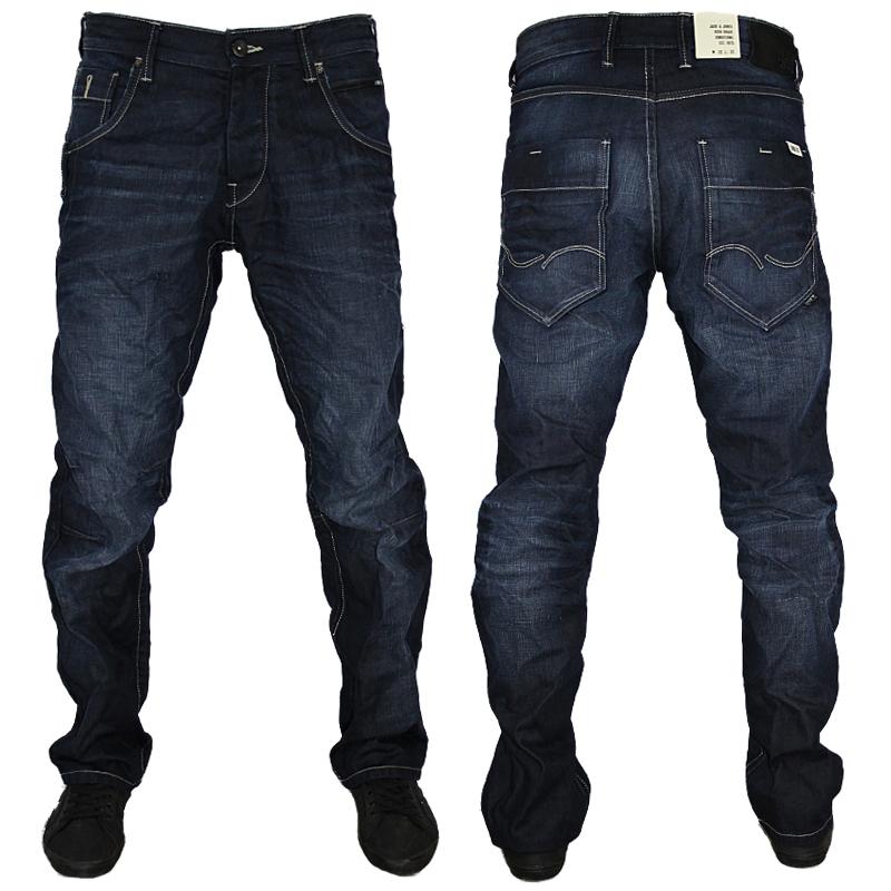 jack jones boxy powel designer loose fit jeans all waist leg. Black Bedroom Furniture Sets. Home Design Ideas