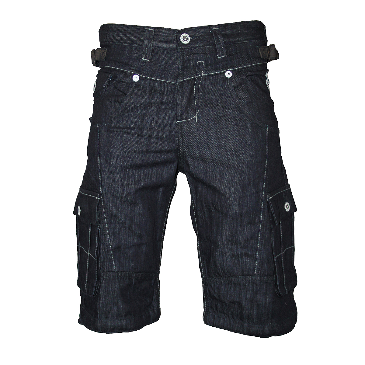 NEW MENS DARK DENIM ZICO JEANS MJT04 DESIGNER KNEE LENGTH SHORTS ...