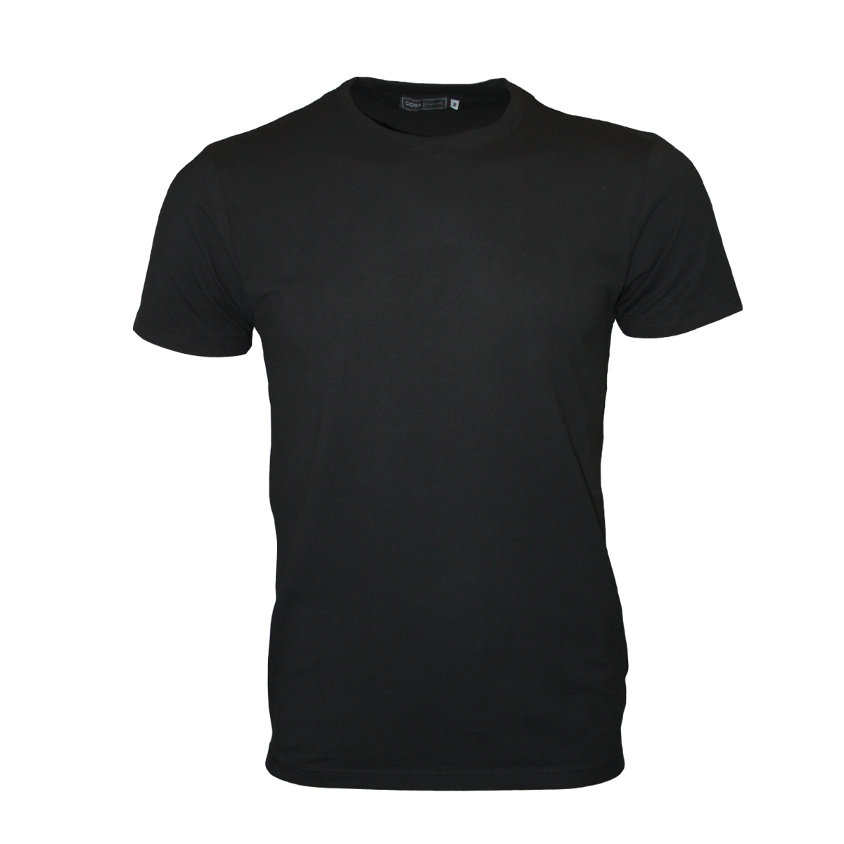 New mens jack jones jeans basic o neck tee plain for T shirt plain black