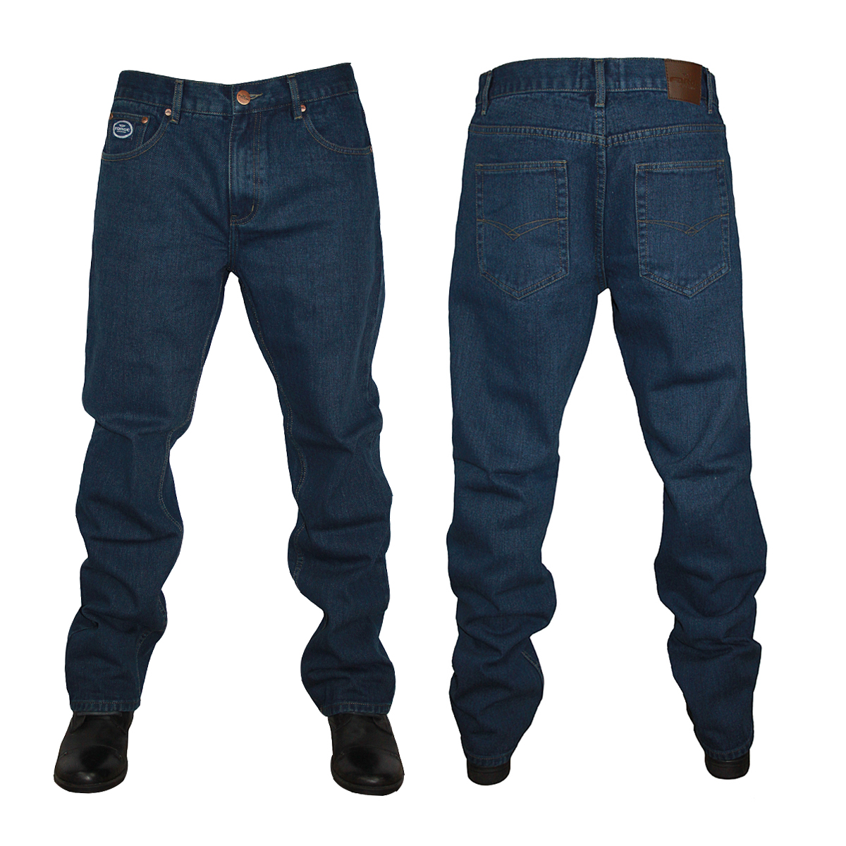 NEW-MENS-FORGE-BY-KAM-JEANS-F101-COMFORT-FIT-JEANS-ALL-WAIST-LEG-BIG-KING-SIZE