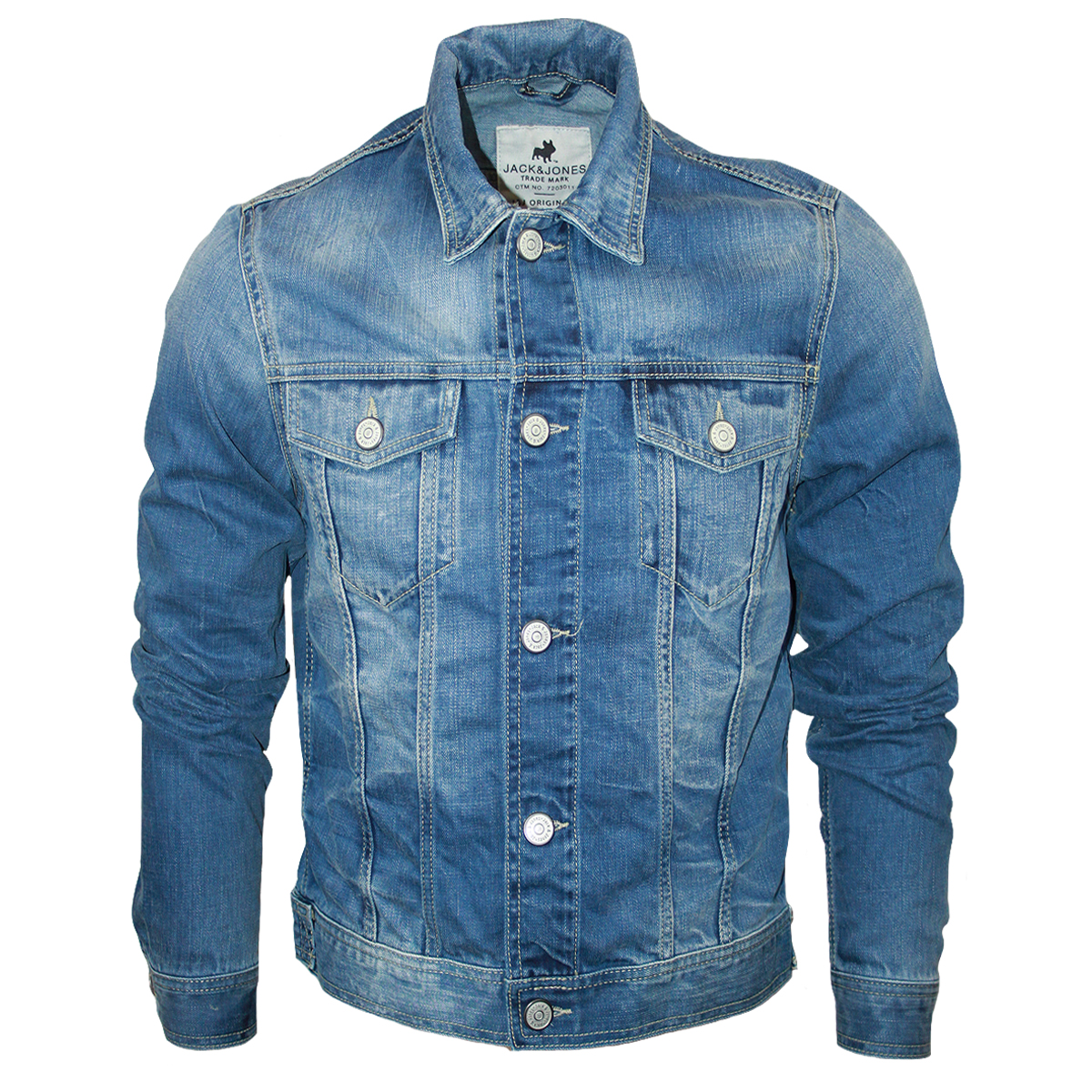 Choosing men's denim jackets. With a variety of styles to choose from, including Sherpa, stonewashed, dark wash, or unlined choices, you'll find a denim jacket tocomplementyour wardrobe and elevate your look. Each jacket lets you approach your own stylein a new and unique way.