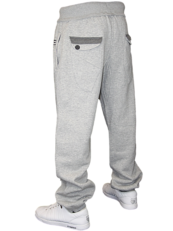 NEW-MENS-GREY-POLICE-DESIGNER-COTTON-JOGGERS-ALL-SIZES