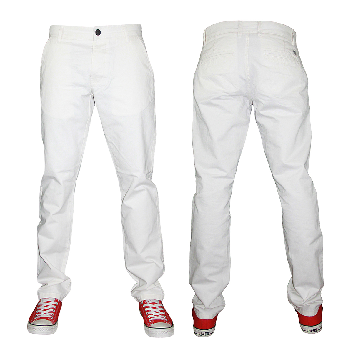 NEW MENS JACK & JONES JEANS BOLTON EDWARD SLIM FIT CHINOS ALL ...