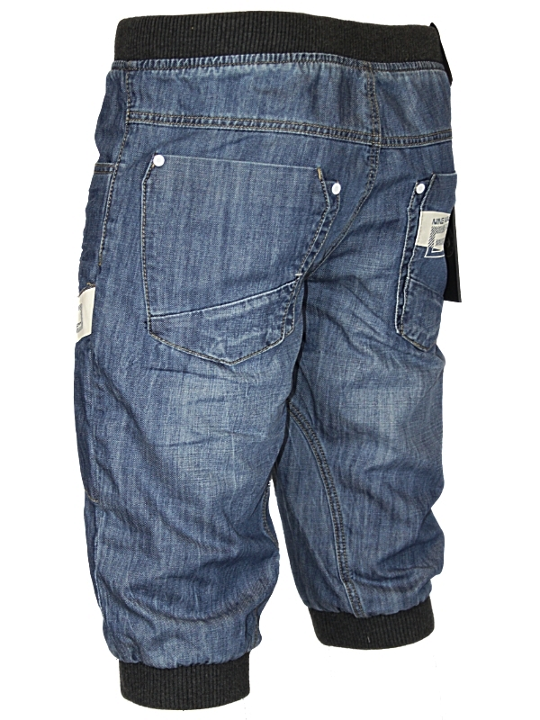 NEW-MENS-DARK-BLUE-ETO-DENIM-CUFFED-SHORTS-ALL-SIZES-UK