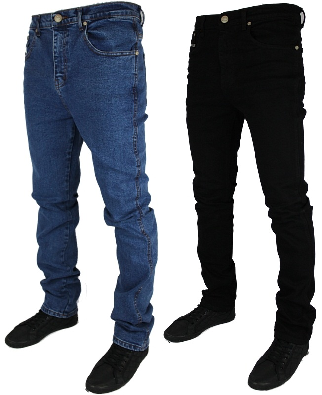BB MENS SUPER BASICS MJT14 SKINNY STRETCH JEANS ALL WAIST &amp ...