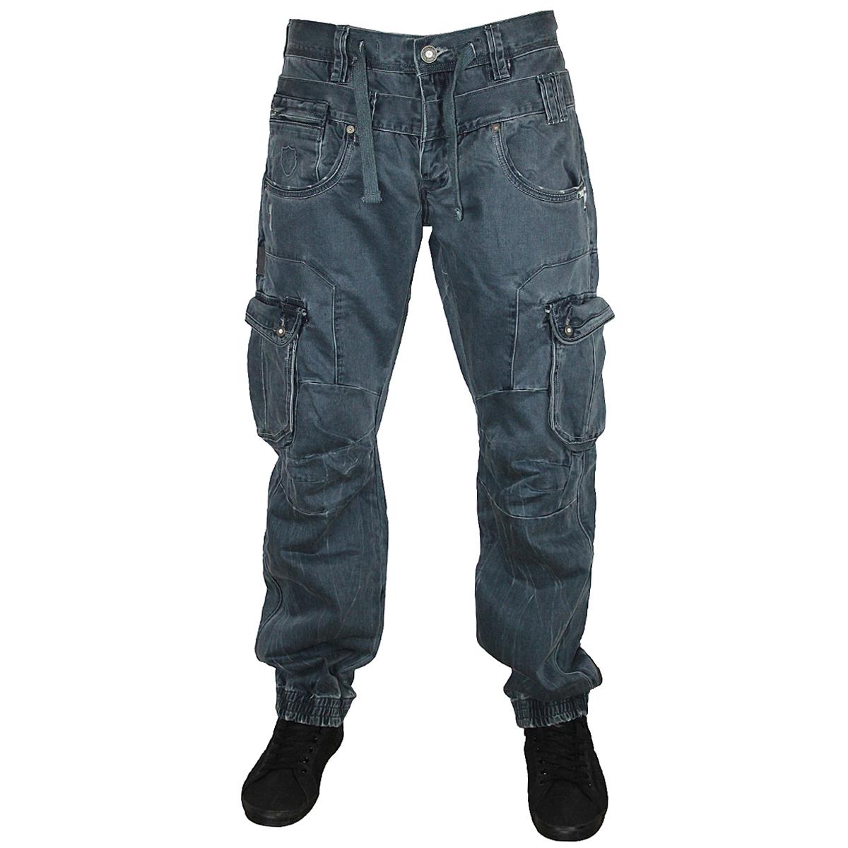 Wax Denim Jeans Men