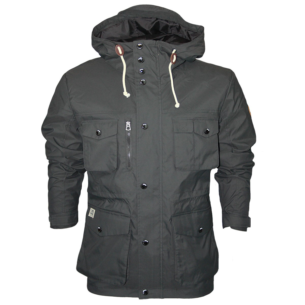 NEW MENS JACK & JONES JEANS EAGLE DESIGNER HOODED JACKET COAT ...