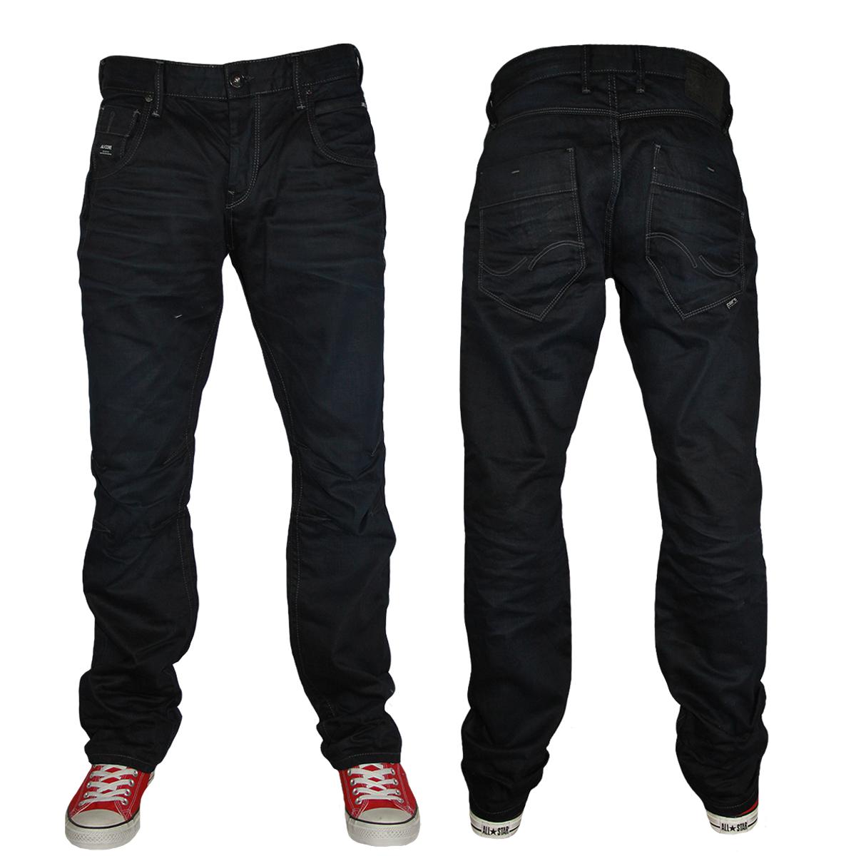 mens blue jack jones boxy powel jj 730 loose fit jeans all waist leg sizes ebay. Black Bedroom Furniture Sets. Home Design Ideas