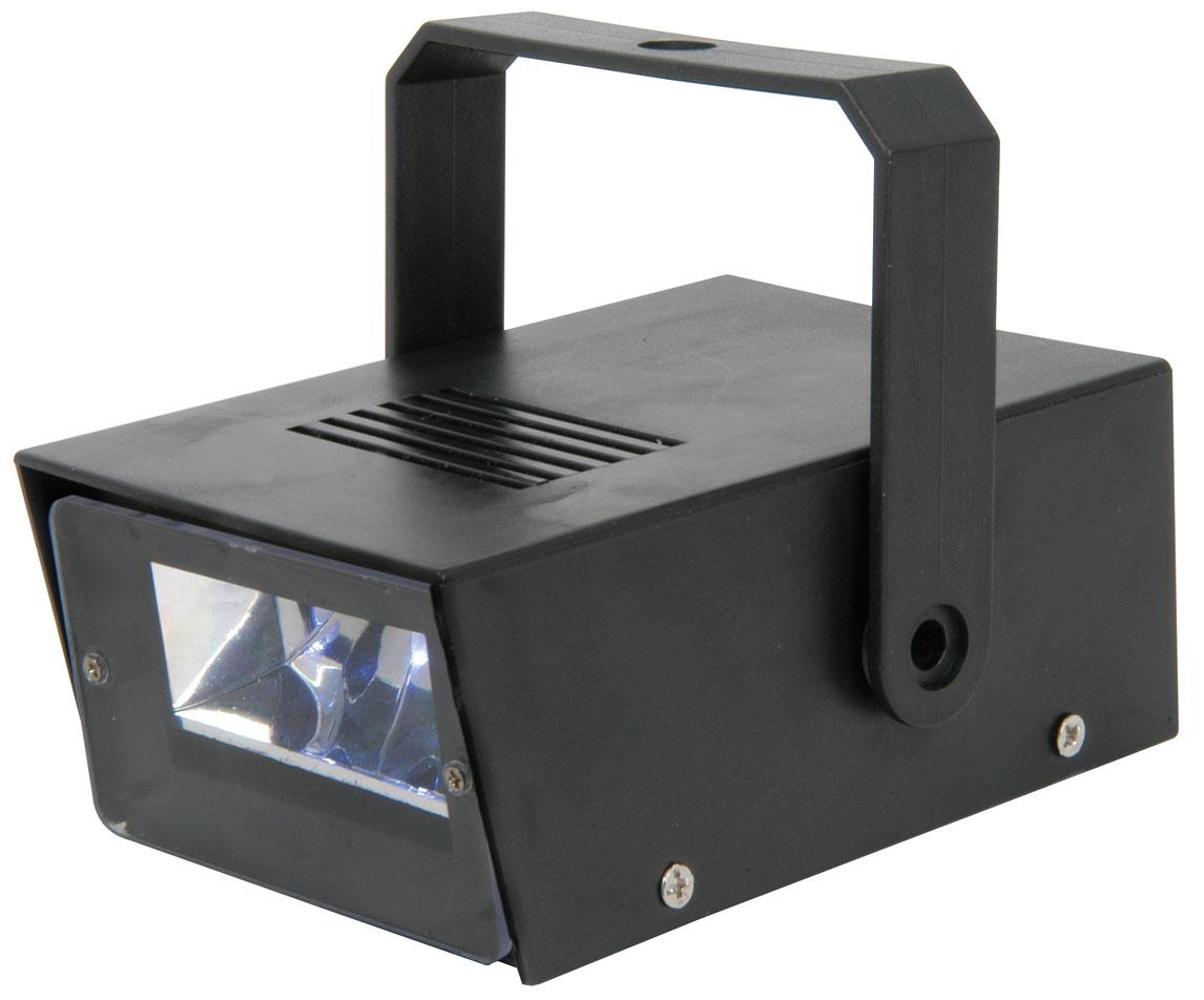 qtx black mini led strobe disco flashing white light battery powered ebay. Black Bedroom Furniture Sets. Home Design Ideas